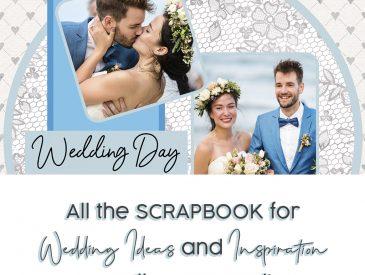 Scrapbook for wedding