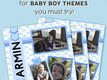 Memory Book for Baby Boy
